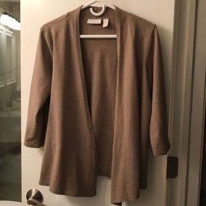 Chico's sweater in beige